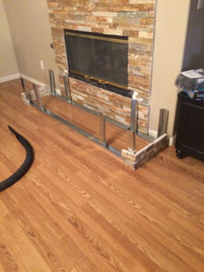 fireplace refacing | AT Southern Design Co.
