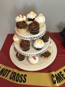 Spy Party Cupcakes